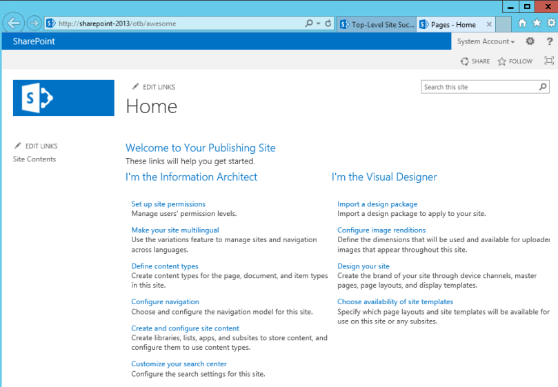 Using Spwebprovisioningprovider To Write Sharepoint Site