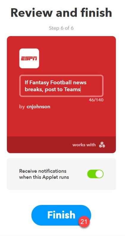 Use Microsoft Teams to Run Your Office Fantasy Football League
